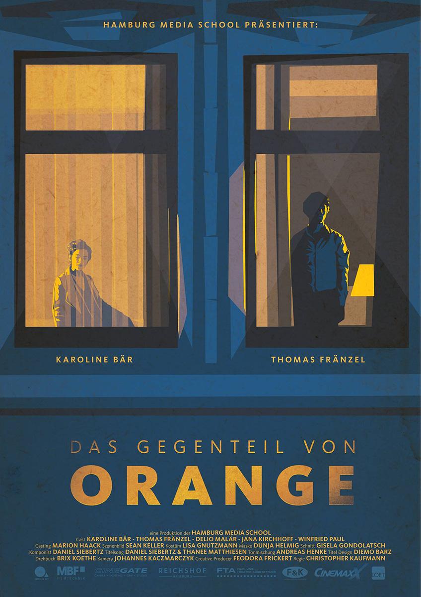 Filmplakat Das Gegenteil von Orange