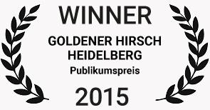 Publikumspreis – Goldener Hirsch, Heidelberg, Deutschland