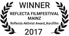 Reflecta Aktivist Award_Kurzfilm – Reflecta Filmfestival, Mainz, Deutschland